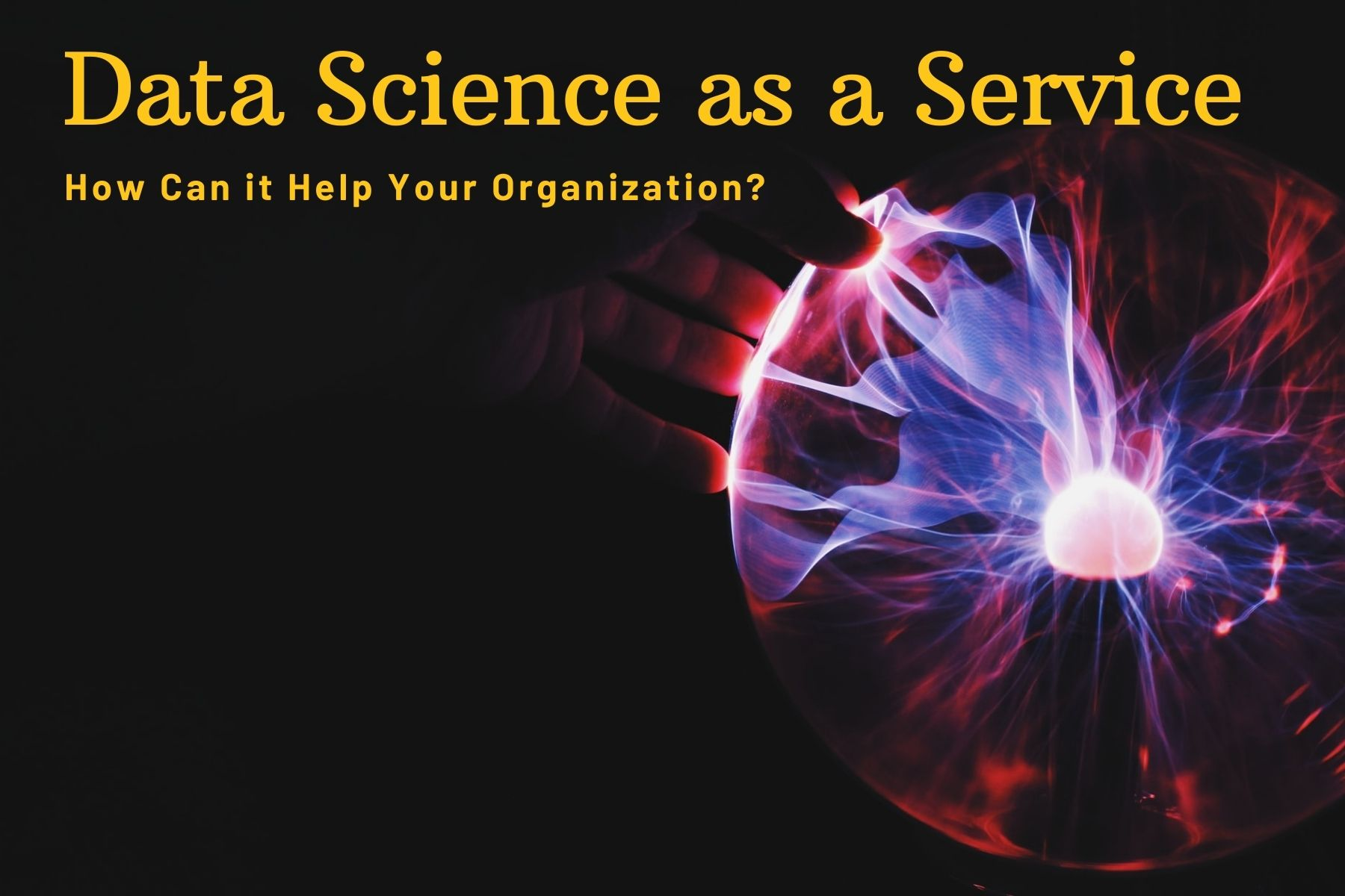 Data Science as a Service